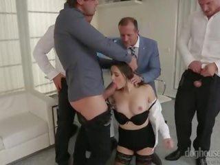 kwaliteit brunette seks, zien orale seks klem, nieuw dubbele penetratie neuken