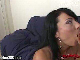 meer brunette, online deepthroat, doggystyle vid