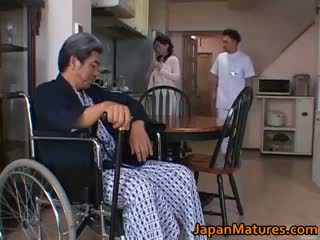 ideal brünette heißesten, japanisch, hq gruppen-sex