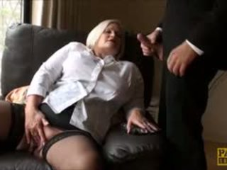 Lacey Starr Hammering Her Granny Pussy