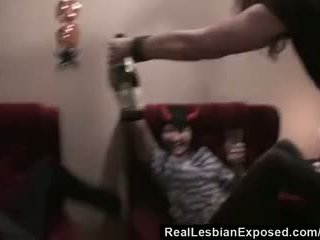 RealLesbianExposed - Lesbian Halloween Party