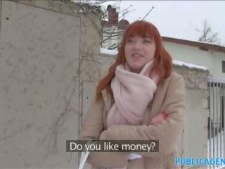 Awam agent warga german si rambut merah loves zakar/batang