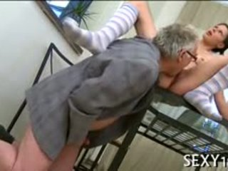 brunette, doggystyle, blowjob, old+young