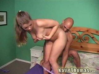 Katie thomas taking elle profond