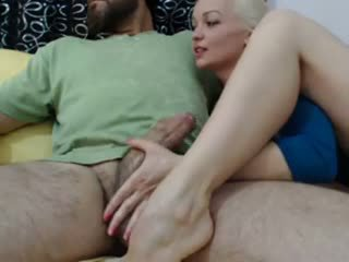 Hot Blonde Wife Loves Big Arab Cock