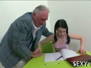 The Lure Of An Elderly Teacher
