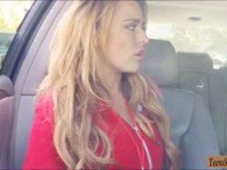 Aerobics Instructor Corinna Blake Banged In The Backseat
