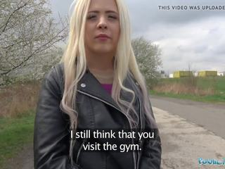 Public Agent Cute Russian Teen Blonde Fucked on...