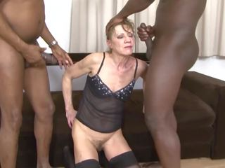 grannies, trekanter, interracial, hd porno