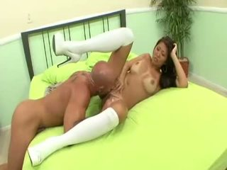 Asian cock tammer Beti Hana fucks beefy cock into submission