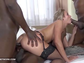 Face Fucked Deepthroat Cum Lick Swallow Blonde...