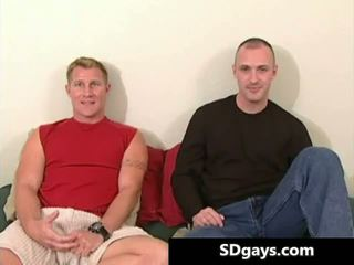 gay vid, idealna komadeška, blowjob