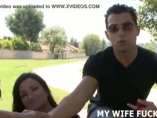 Oglądaj ty żona walenie a duży cocked stranger
