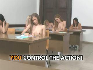 groot college, gratis cumshots, plezier kleine tieten porno