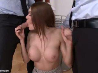 zuig- mov, meer nice ass, heetste dubbele penetratie mov
