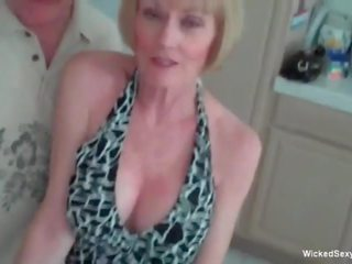 Granny Loves 3some Challenge with Two Young Cocks: Porn b8