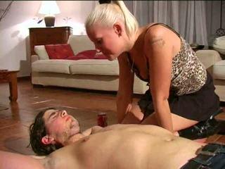Spitting femdom: fria träldomen, herravälde, sadistiska, masochismen porr video- e1