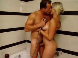 Kate Takes Shower then Sharp Sex, Free HD Porn 2f