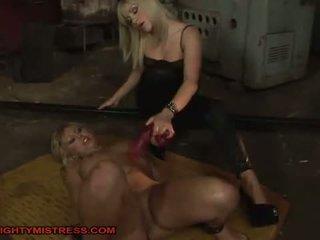 nice bdsm, hottest hogtied, great bondage clip