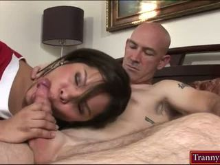 hot brunette, most shemale, blowjob new