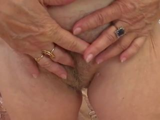 Grandma Tsesil very Passionate and very Gentle: HD Porn b9