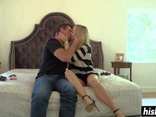 Blowjob skills with Brandi Love's mouth