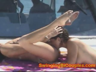 8 Whore Bi Wives on a Yacht, Free MILF Porn 60