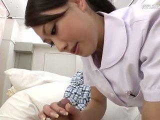 pantyhose nurse in white stockings