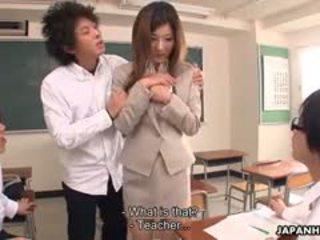 college gepost, meest japanse, zien pijpbeurt