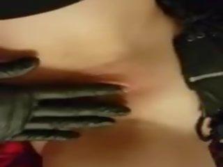 mooi handschoenen thumbnail, vingerzetting, groot dokter seks