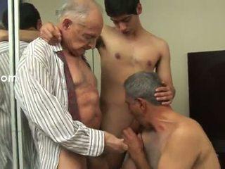ομοφυλόφιλος, γριά, πρωκτικός