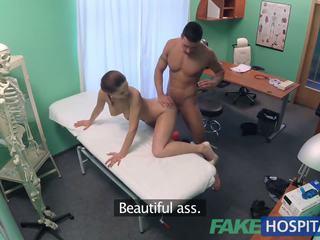 FakeHospital Kinky nurse helps patient ejaculate