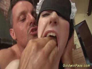 kwaliteit orale seks porno, plezier deepthroat, vol speelgoed kanaal