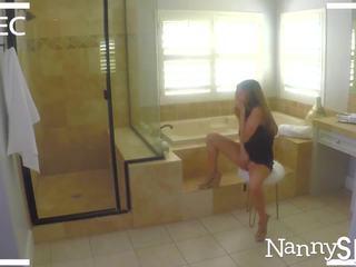 NannySpy Father takes advantage of porn addict nanny Nina North