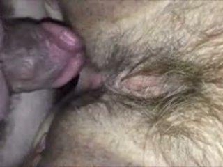 Hairy Amateur Pussy Having Sex Closeup