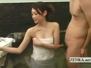 heetste brunette, kwaliteit japanse, u massage