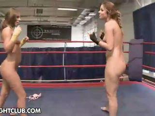NudeFightClub presents Peaches vs Debbie White