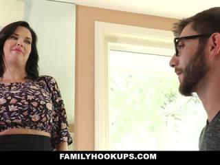 Familyhookups - heiß milf teaches stepson wie bis fick