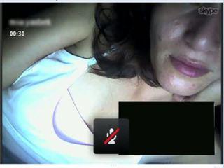 vers tieten, controleren webcam, ezel gepost