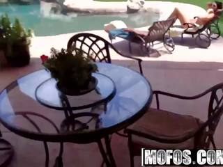 Mofos - Drone Hunter - Alison Tyler - Poolside Banging