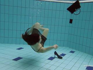 vers 18 jaar oud, heetste underwater, plezier through video-