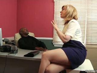 Interracial Anal With Milf Nina Hartley