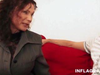 zien grote borsten video-, een oma porno, echt grannies video-