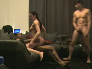 double penetration, cuckold, anal
