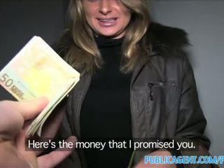 Publicagent loud seks koos kuum vene beib