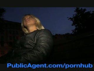 PublicAgent Blonde Student Monika Loves my Huge Dick