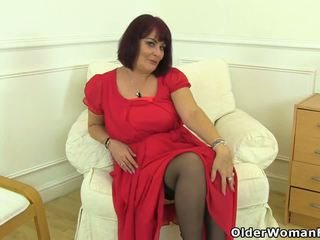 British MILF Christina X Slides Her Fingers in: HD Porn 15