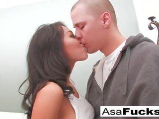 Asa Akira Blowjob Spaß