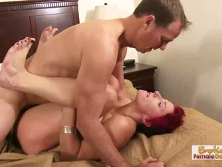 Stupid cougar slut is good only at pleasing cocks