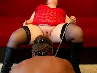 German Fat Mistress Fucks Guy Wi.